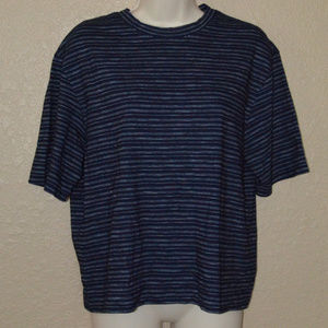 Sz S Vince Navy Short Sleeve T-Shirt Tee